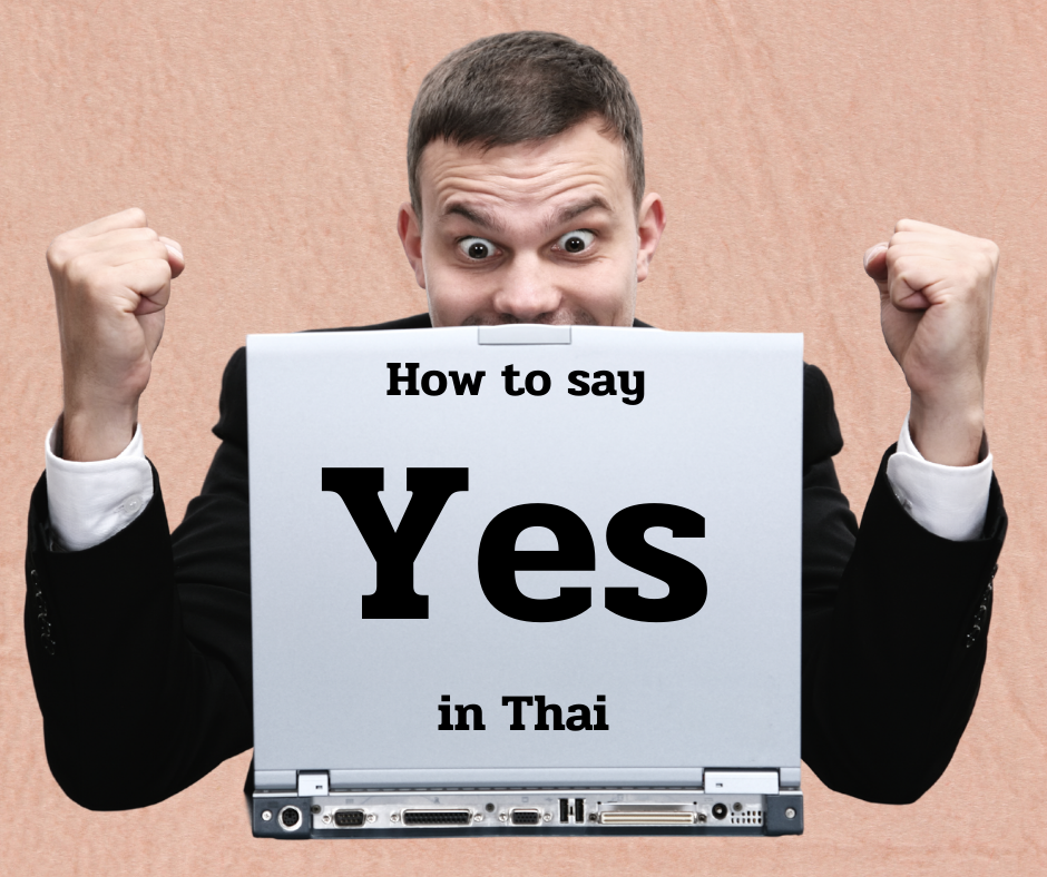 How to Say YES in Thai | Learn Thai from a White Guy