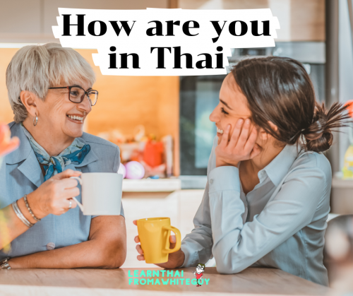 how are you in thai