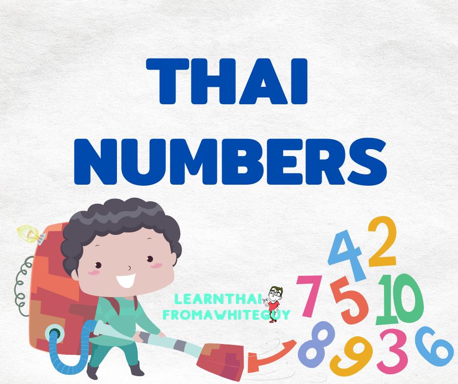Thai numbers header